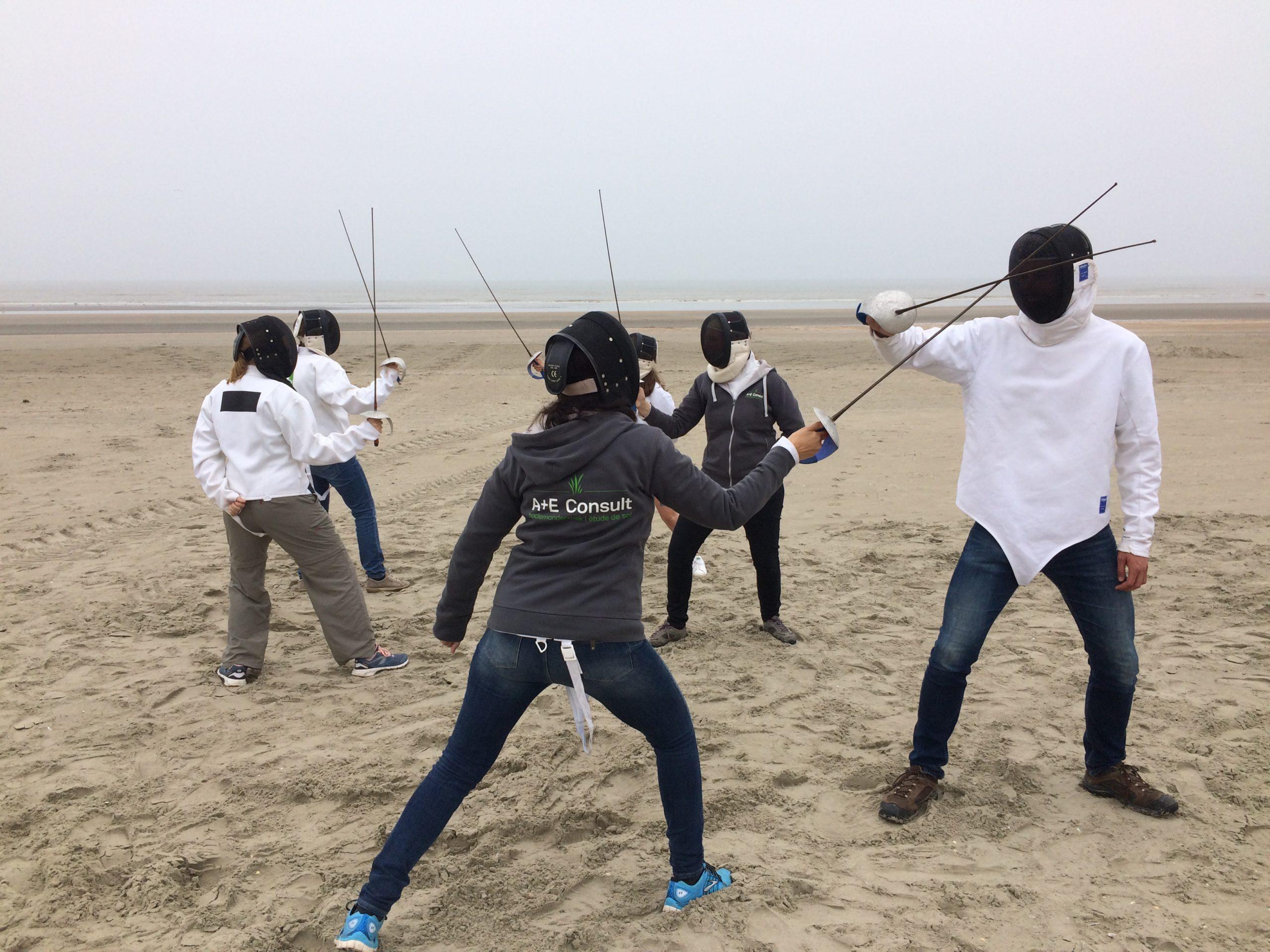 Teambuilding Schermen