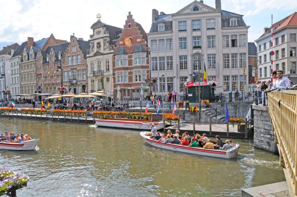 Groepsreis Gent Boottocht Groepsuitstap Daguitstap Verenigingen Bedrijven Familie