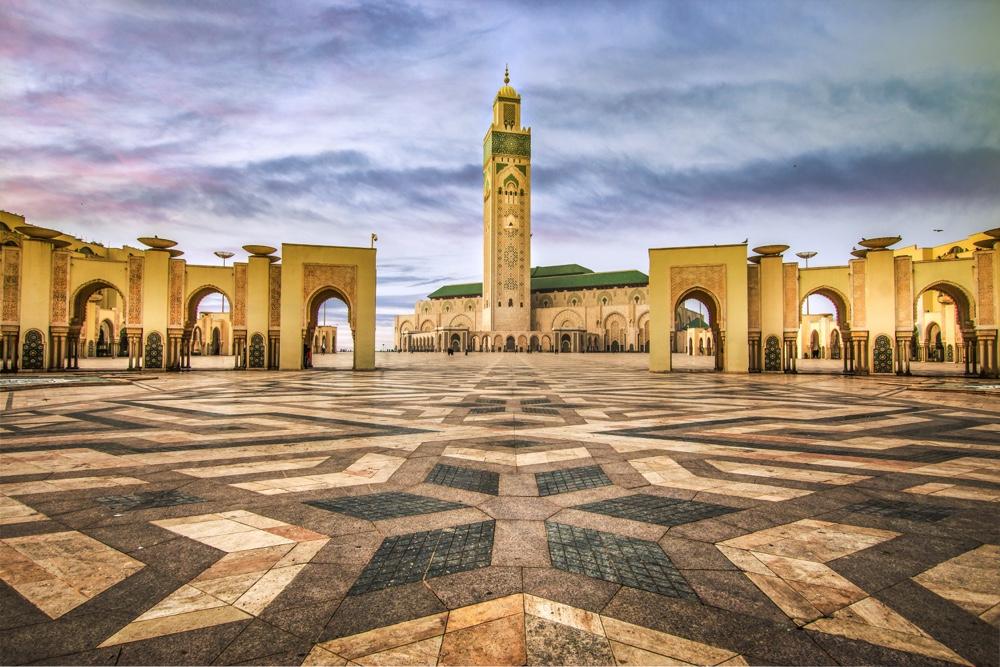 VLIEG 04 Marokko Hassan II moskee 2 Casablanca_web