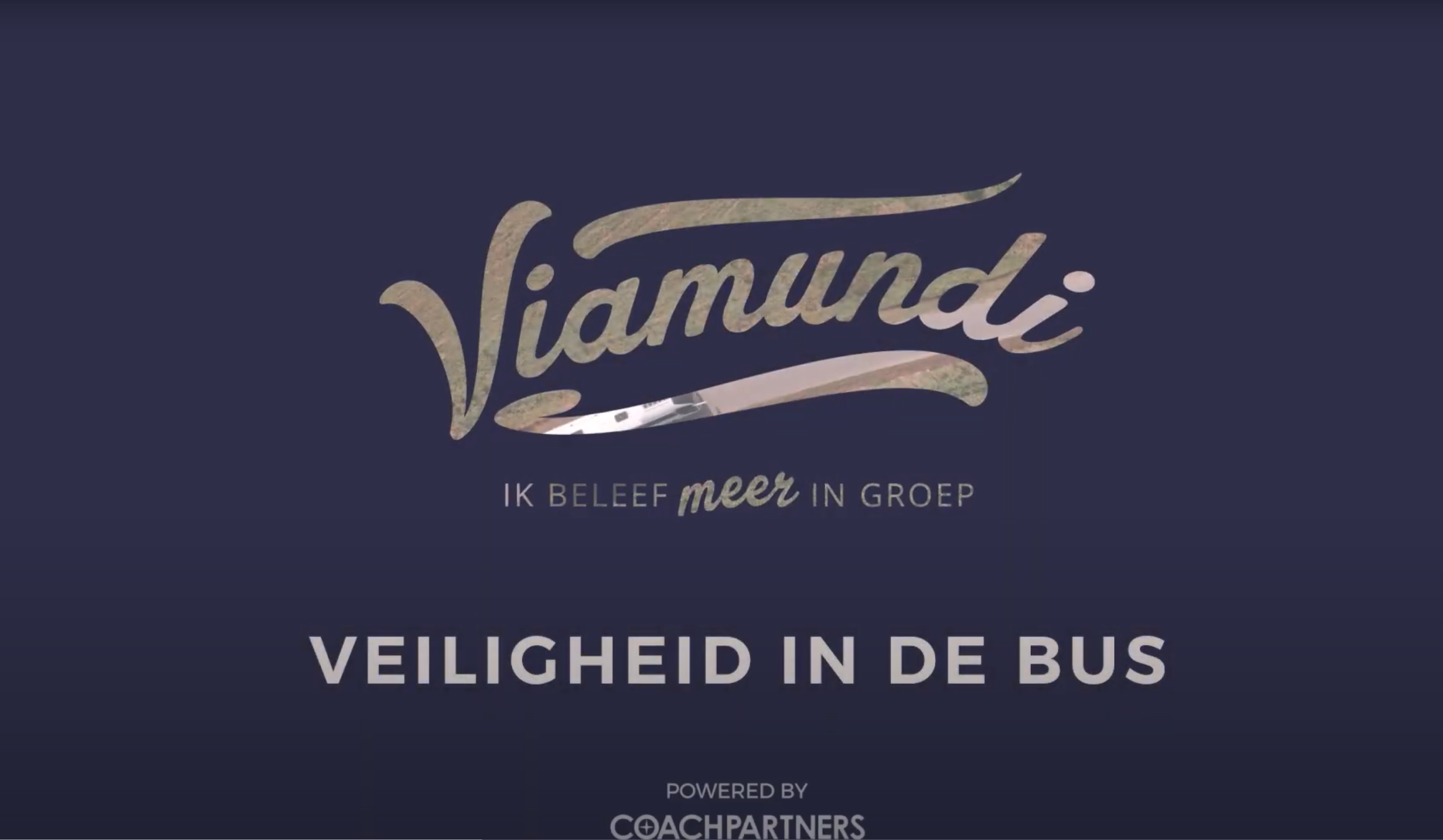 Viamundi safety on the bus. Powered by Coach Partners.