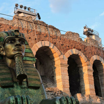 ITALIË – VERONA: 150 JAAR AIDA – 6 DAGEN