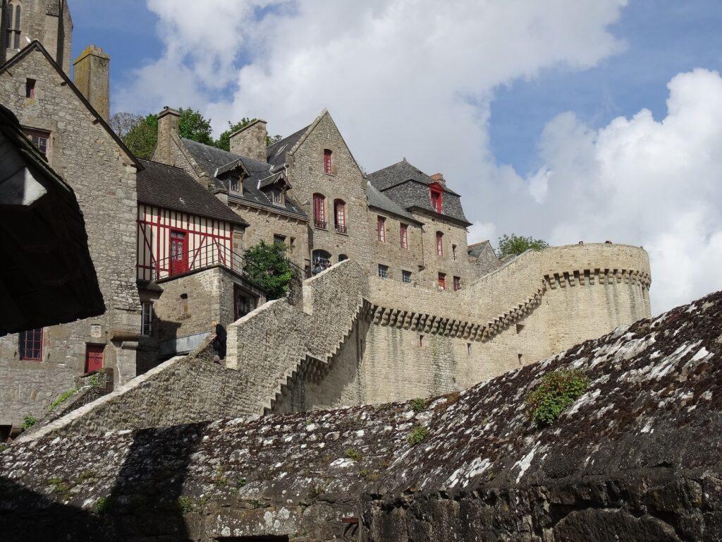 Mont Saint Michel - vestingsmuur